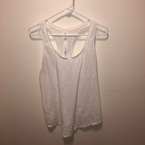 Basic White Lululemon Tank